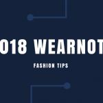 2018 WEARNOTE